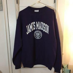James Madison university crew neck